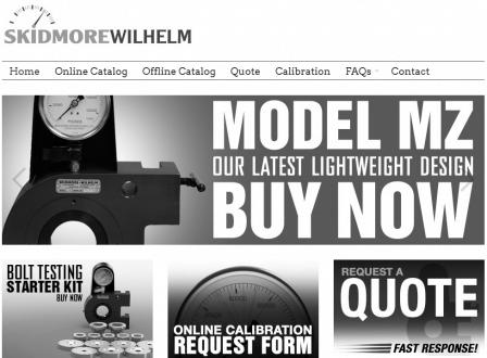 Skidmore-Wilhelm eCommerce Site